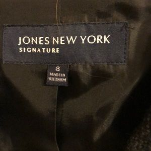 Jackets & Coats - Jones New York black jacket